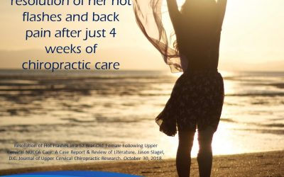Menopause, Hot Flashes & Chiropractic
