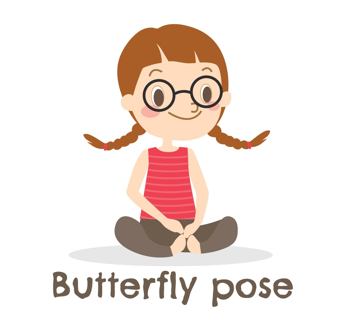 Butterfly Pose Kid's Yoga