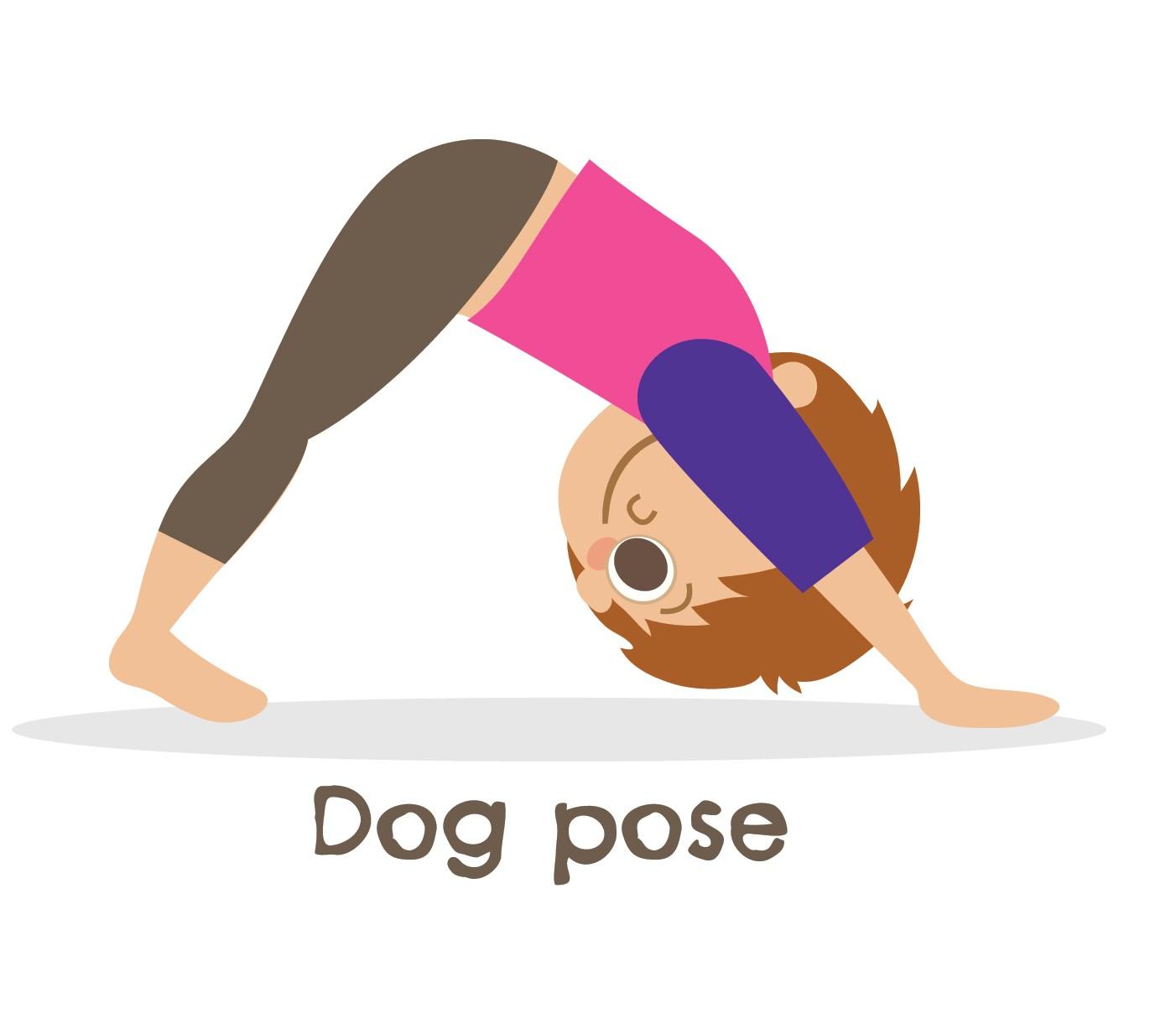 Dog Pose Kid's Yoga