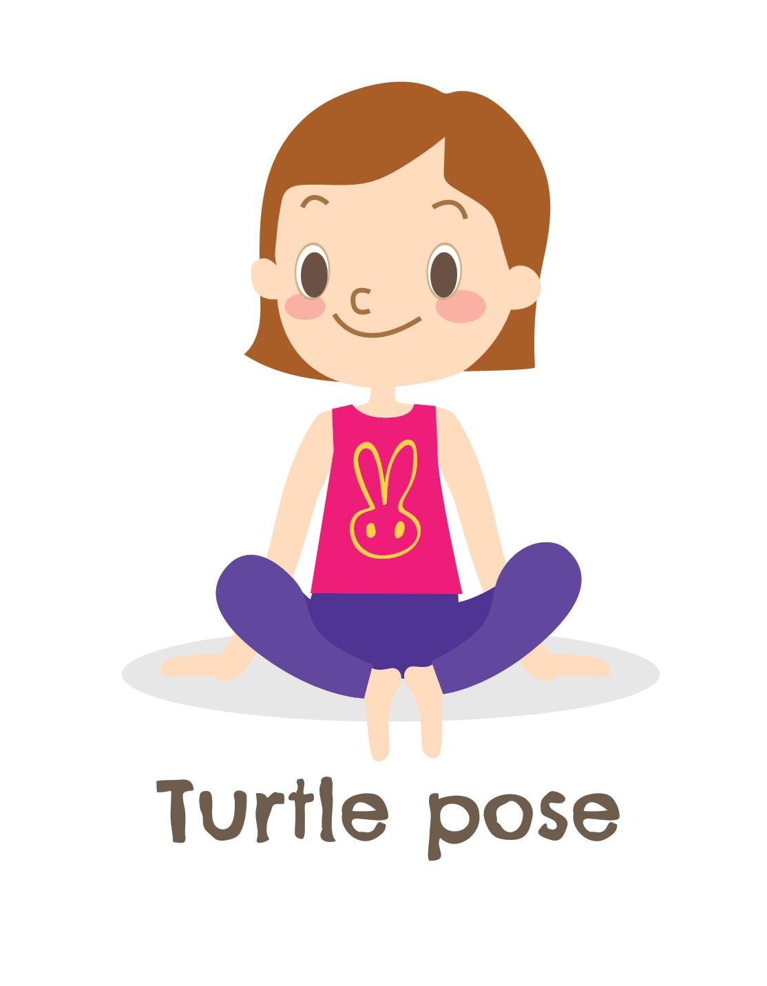 Turtle Pose Kid's Yoga